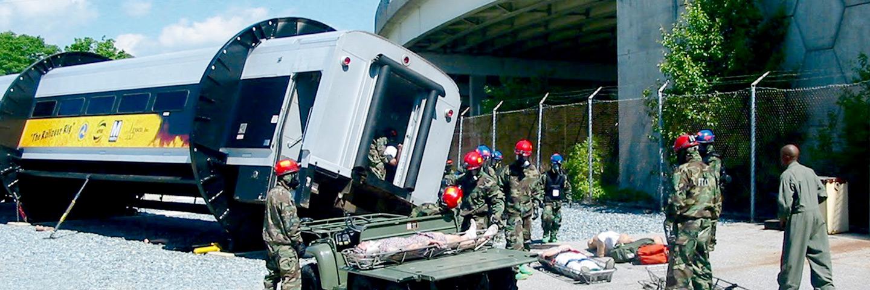 Rail Emergency Evacuation Simulator
