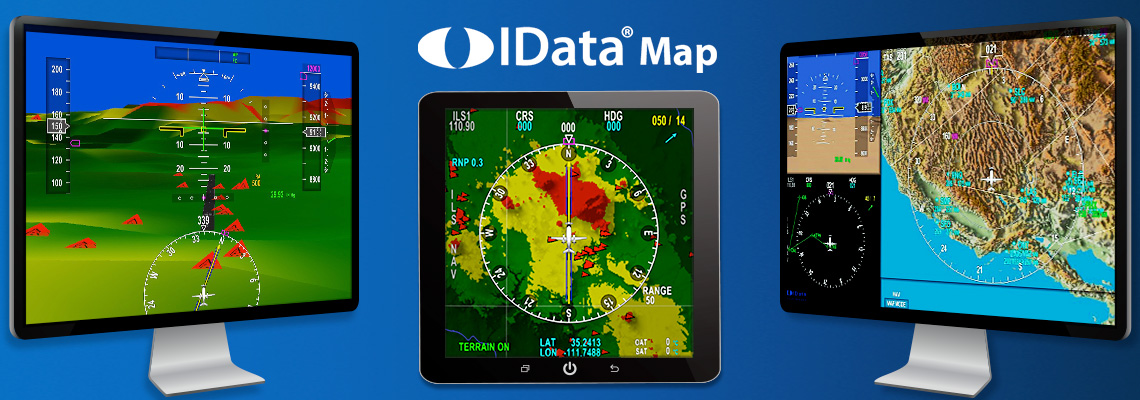 IDataMap - High performance digital moving maps for TAWS and Synthetic Vision displays