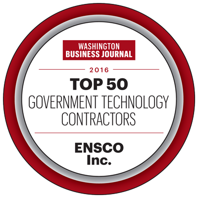 ENSCO - Top 50 Government Technology Contractors by WBJ