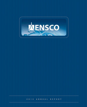 2013 ENSCO, Inc. Annual Report