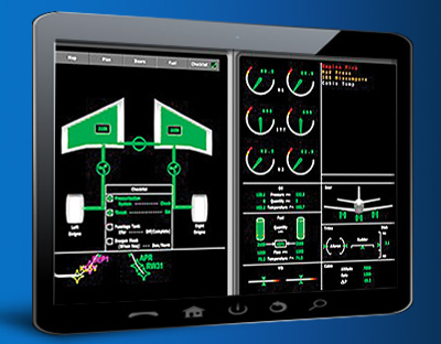 Custom Developed HMI Industrial Control Displays from ENSCO Avionics