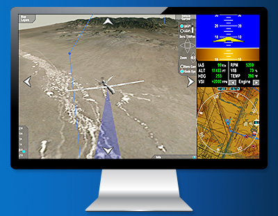 Custom Developed HMI UAS Ground Stations Displays from ENSCO Avionics