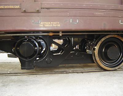 Track Geometry Measurement System   Rail Profile   Third Power