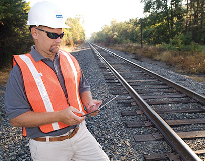 Digital Track Notebook (DTN) - Gain rapid access to performance reports and ensure regulatory compliance with this simple, mobile, web-based track inspection tool