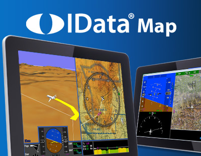 IData Map - Digital Moving Map, Situational Awareness - ENSCO Avionics HMI Software Displays