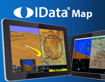 IDataMap | 3D Synthetic Vision | TAWS | Digital Moving Map