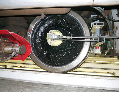 Transit Vehicle Operating Instrumented Wheel Set - ENSCO Rail
