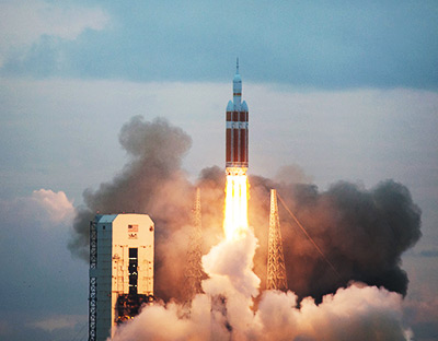 ENSCO Supports Launch of Orion Spacecraft