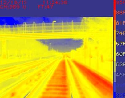 Thermal Imaging System (TIS) - ENSCO Rail Track Inspection