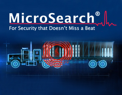 MicroSearch - human presence detection system capable of detecting heartbeats of individuals hiding inside vehicles or containers that are loaded on vehicles.