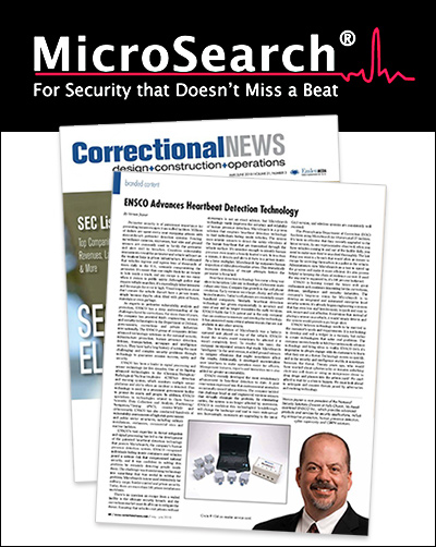 MicroSearch Featured in Correctional News Magazine